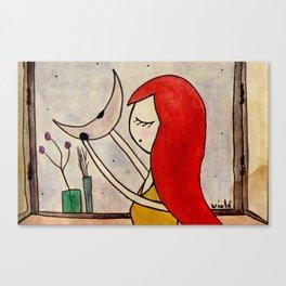 The love window Canvas Print