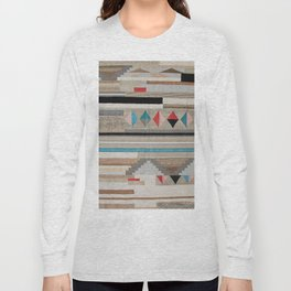 V44 Cool Moroccan Boho Design Long Sleeve T-shirt