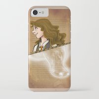 hermione iPhone & iPod Cases featuring Hermione Granger by Imaginative Ink