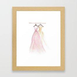 Two Dresses 1 Framed Art Print