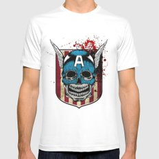 Captain-A Mens Fitted Tee MEDIUM White