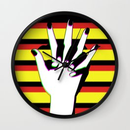 Hold In Wall Clock