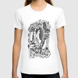 Penguins For John T-shirt