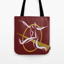 Jumpin', Pt. 1 (Red) Tote Bag