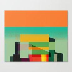 Vertical Stacks Canvas Print