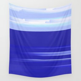 Sea and Sky Mediterranean View Wall Tapestry