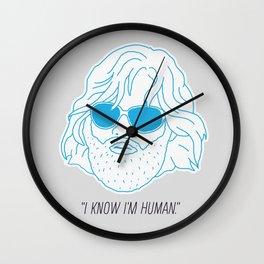 RJ MacReady Wall Clock