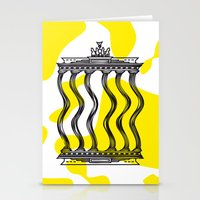 berlin Stationery Cards featuring Berlin by Jan Luzar