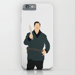 Aldo Raine Inglourious Basterds movie iPhone Case