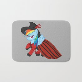 Lady Rainbow Dash Licorice Bath Mat