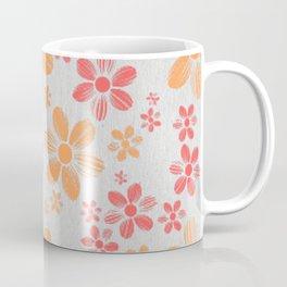 Enzo flower pattern Coffee Mug