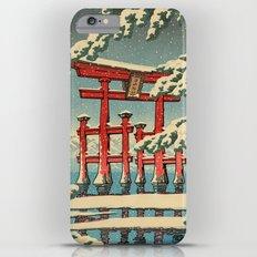 Miyajima shrine in Snow iPhone 6 Plus Slim Case