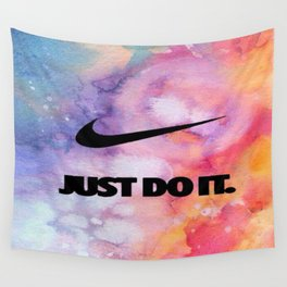 Nike's Just Do It Wall Tapestry