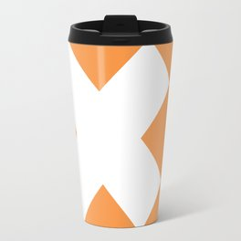 X WHITE Travel Mug