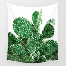 Velvet Cactus Wall Tapestry