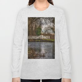 Sulhamstead Swing Bridge On The Kennet and Avon Long Sleeve T-shirt