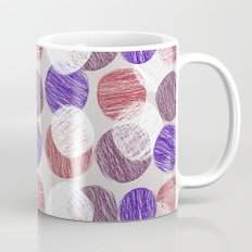 Blue and red yarns Mug