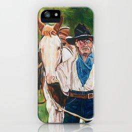 The Cowboy iPhone Case