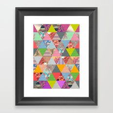 Lost in ▲ Framed Art Print