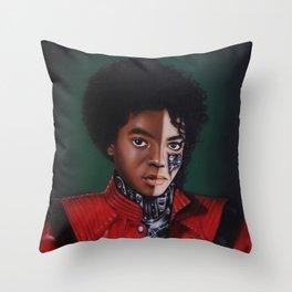MIKE JACKSON Throw Pillow