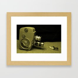 a Clockwork Camera  Framed Art Print