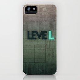 leveL - Title iPhone Case