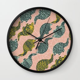 Armadillos Wall Clock