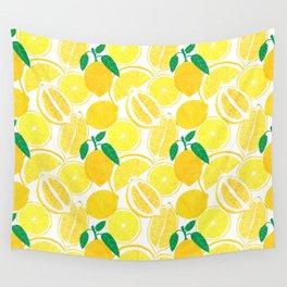 Lemon Harvest Wall Tapestry