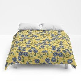 Floral Wisps Comforters