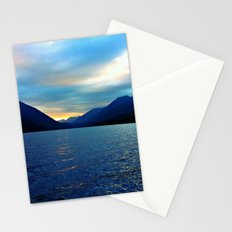 Floating in the Lake  Stationery Cards