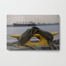 Harbour Ties Metal Print