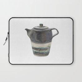 Japanese Teapot Laptop Sleeve