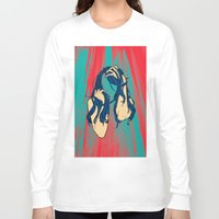 cancer Long Sleeve T-shirts featuring Cancer by Rendra Sy