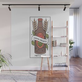 Drink Craft Beer Wall Mural