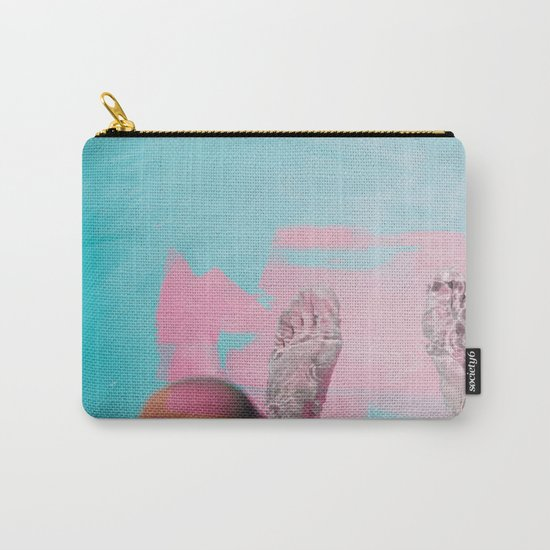 Both Feet In #society6 #buyart Carry-All Pouch