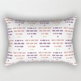 I Love You Morse Code IV Rectangular Pillow