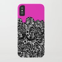monty python iPhone & iPod Cases featuring Python Pink by Hipsterdirtbag