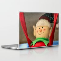 dentist Laptop & iPad Skins featuring I wanna be a dentist but my arms are too floppy! by IowaShots