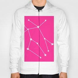 Gemini (White & Dark Pink Sign) Hoody