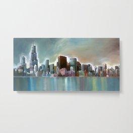 Chicago At Noon Metal Print