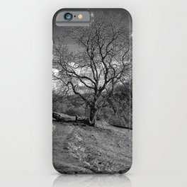 forgotten country road iPhone Case