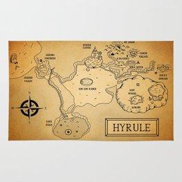 Hyrule Map  OOT Rug