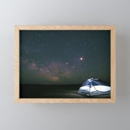 Dreaming of Adventure Framed Mini Art Print
