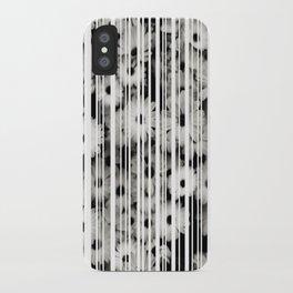 Flower Bars iPhone Case