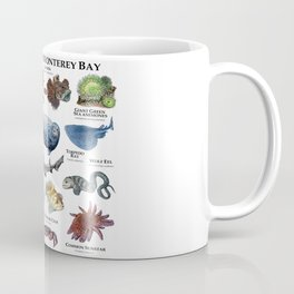 Marine Life of Monterey Bay Coffee Mug