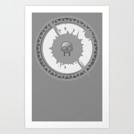 EALYONN NECRO Art Print