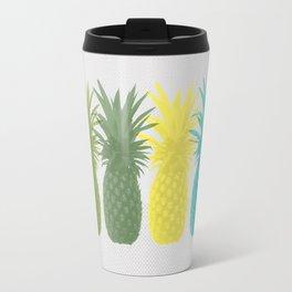 Overlapping Pineapples Travel Mug