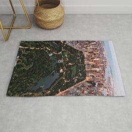 Central Park, New York - Twilight Rug