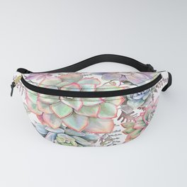 Watercolor Succulent #56 Fanny Pack