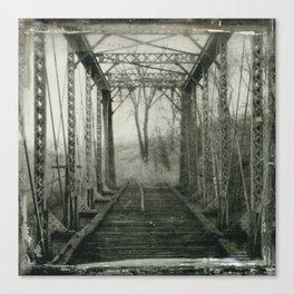 West Bottoms Bridge Canvas Print